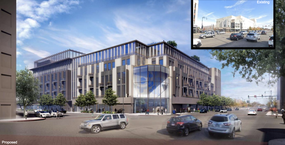 Former Sears store set to be replaced by six-story residentialbuilding